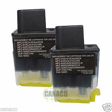 2 Black LC41BK Compatible ink cartridge for Brother MFC-210C MFC-420CN MFC-620CN