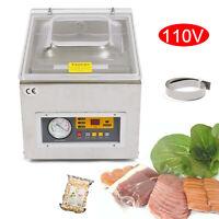 "120W 10"" Vacuum Sealer Sealing Machine 110V/60HZ Commercial Packing 1~4pcs/min"