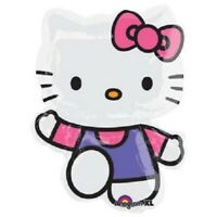 "XL 30"" Hello Kitty Super Shape Mylar Foil Balloon Party Decoration"