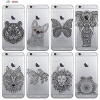 Custodia Cover Design Mandala Per Apple iPhone 4 4s 5 5s 5c 6 6s 7 Plus SE