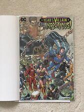DC Comics Superman Batman #1 Year Of The Villain NYCC Acetate Variant Signed