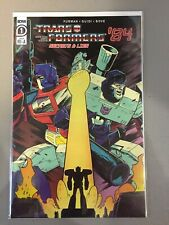 Transformers '84 Secrets & Lies #1 RI-A 1:10 variant cover IDW 2020 NM/NM- J12J