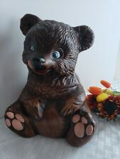 California Originals - Teddy Bear Cookie Jar # 405 - Extremely Collectible