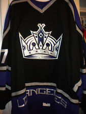 NHL LOS ANGELES KINGS KYLE QUINCEY AUTHENTIC ON-ICE GAME HOCKEY JERSEY