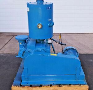 KINNEY Rotary Piston 165 CFM Single Stage Vacuum Pump  KDH-150 Rebuilt