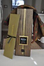 Ardbeg Provenance Scotch NON Whisky Wooden Box w/ Tartan Cloth & Letter