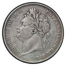 1 Crown 1822 // United Kingdom (England) Silver Coin // King George IV // #  680
