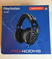 New Plantronics RIG 400HS PlayStation Gaming Wired Headset For PS4