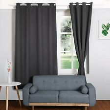 HOMFY Blackout Curtains for Bedroom, Thermal Insulated Panels Set of 2