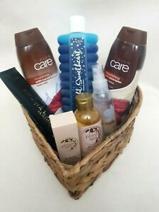Avon 8pc HAMPER SPA Bubble Bath/Shower Oil Spritz Hand Cream Hair Mask Plus+