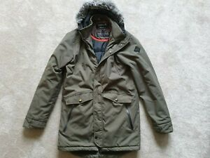 O'NEILL - Womens Winter Warm Coat - Padded with Hood - Green - Size M - VGC