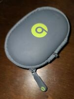 Monstet Beats by Dre gray case for In-Ear Headphones earbuds + charging cable