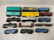 B62- Mixed HO Scale Lot Of Freight Train Cars As Is