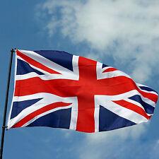 Bandera Del Reino Unido 1,5 m x 0,9 m Grande - 100% Poliéster - 2 Metal Ojales