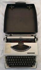 Vintage Adler Tippa Typewriter, Portable rigid carry case *Working Condition*