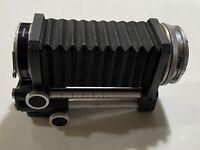 Vintage Novoflex bellows US Pat 2684020 w/ adapter for Nikon camera & Leiex adap