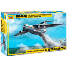 "ZVEZDA 7029 Model Kit ""Russian Transport Airline IL-76TD EMERCOM"""