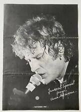 JOHNNY HALLYDAY - JOURNAL FAN CLUB SPECIAL POUR VOUS LES AMIS Novembre 1981