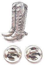 Stivali Da Cowboy Realizzato artigianalmente In Peltro Solido nel Regno Unito