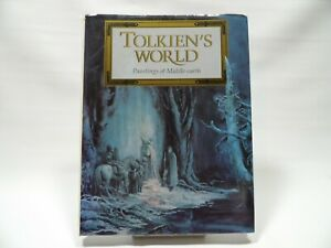 Tolkien's World: Paintings of Middle-earth Hardback Book The Cheap LotR