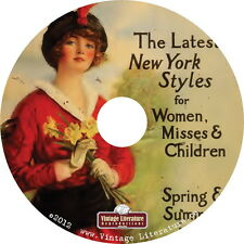 1915 & 1919 Perry Dame & Co {Roaring 1920's Womens Fashion Catalogs} on DVD