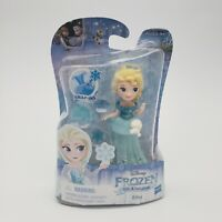 "Disney Princess Frozen Elsa Little Kingdom 3"" Classic Doll Snap-Ins By Hasbro"