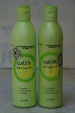 2 PACK. 13.5 oz. Matrix Curl Life Defining System Shampoo & Conditioner. Duo.