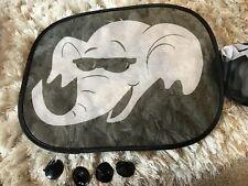 2 Elephant Car Sun Shade Shades Sun Protection New
