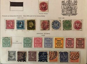 Lot of Germany Prussia Old Stamps Used/MH