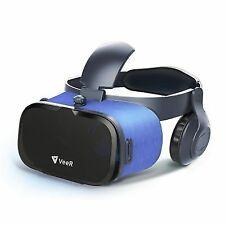 Veer Oasis VR Headset 3d Virtual Reality Goggles With HD Blue Glass Lens Ultra