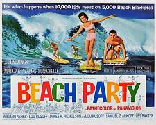 Vintage Antique  Beach Party  Movie   POSTER