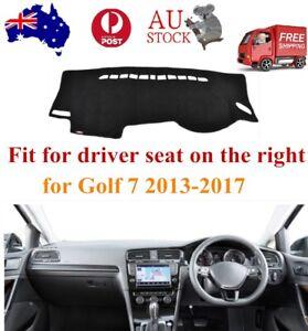 Dashboard Mat,Dash Carpet Non-Slip Sun Protector Cover For VW Golf 7 2013-2019