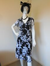 MILLERS  NOTHING WRONG WITH MILLERS    BLACK AND WHITE DRESS SIZE 14