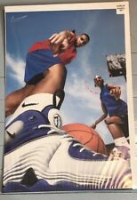 "Rare Lil Penny Hardaway Anfernee Nike Promo Poster NBA 24x36"" ""Who's Got Next?"""