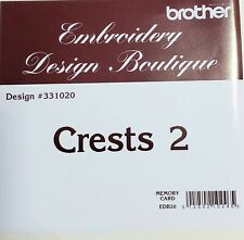 New ListingBrother Embroidery Design Boutique Pes Memory Card - Crests 2