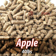 40lbs Of 100% Pure Apple Wood Cooking BBQ Pellets Smoker Grill