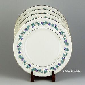 Set of 2 Dinner Plates, SUPERB! Theodore Haviland, Arbor, New York