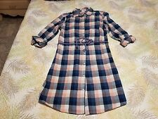 Plaid Shirt Dress By TOMMY HILLFIGER Size Medium! Just Beautiful and Fun!