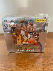 2009-10 Panini NBA Adrenalyn XL Sealed Box 50 packets Stephen Curry Rookie RARE