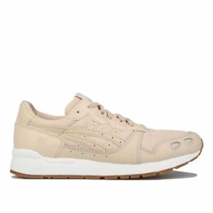 Women's Asics Gel-Lyte Lace up Cushioned Runner Trainers in Cream