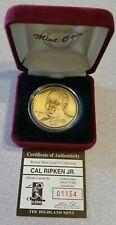 Cal Ripken Jr. HIGHLAND MINT Bronze Coin Baltimore Orioles Medallion Baseball