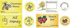 Etiquetas personalizadas para su miel o mermelada casera