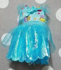 BARBIE DOLL CLOTHING KELLY CLUB 5 BIRTHDAY BUNCH BLUE SHIMMERY CUPCAKE DRESS