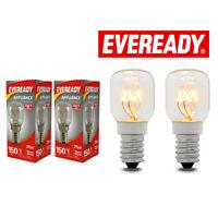 25W Eveready 300°C Oven Appliance Lamp Bulb 240V SES Base Cooker (E14) Pack of 2