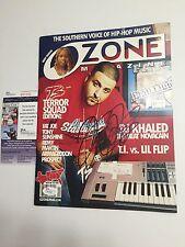 DJ KHALED signed OZONE Magazine 2004 Rap Rapper We The Best JSA Authenticated