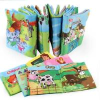 Intelligence development Cloth Fabric Educational Cognize Book Toy for Kid Child