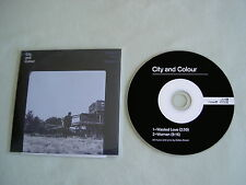 CITY AND COLOUR Wasted Love/Woman promo CD single