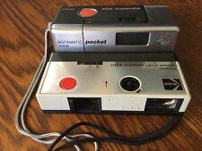AGFAMATIC 2008 Sensor Pocket & KODAK Pocket 2000 Instamatic - c1973 / 110 Film