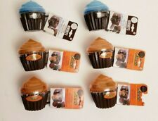 6 Mixed Hershey & Reeses Chocolate Microwave Lava Cake Cupcake Maker Blue/Orange