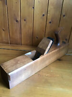 Vintage Carpenters Large Wooden Block Plane - Jack Plane - A HIDLICK Sheffield